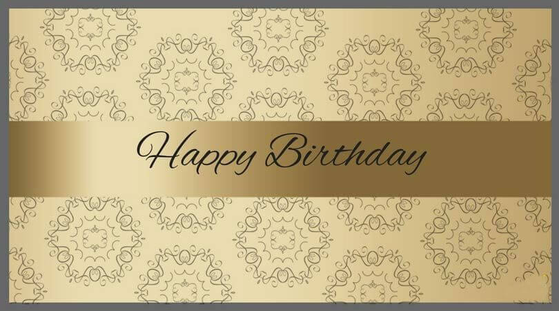 Professional Happy Birthday Wishes Card