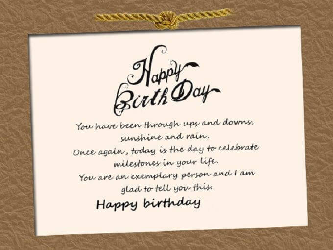 Professional Happy Birthday Wishes Greetings