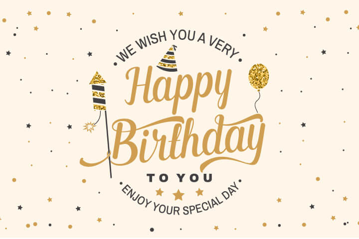 Professional Happy Birthday Wishes