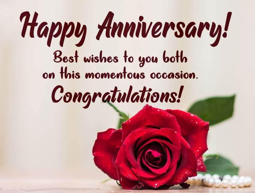 Happy Anniversary Couple Wishes