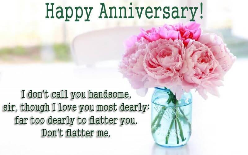 Happy Anniversary Wishes for Boyfriend Flowers