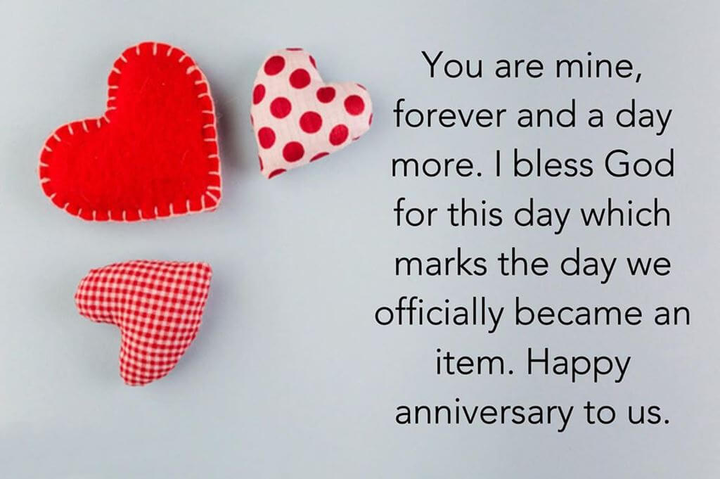 Happy Anniversary Wishes for Boyfriend Pillow