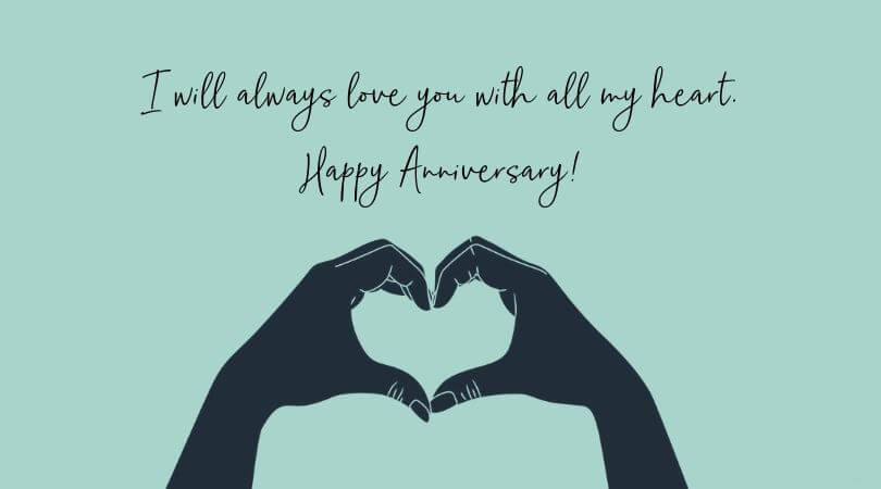 Happy Anniversary Wishes for Boyfriend Promise