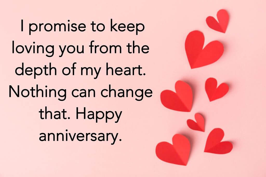 Happy Anniversary Wishes for Boyfriend Red Heart