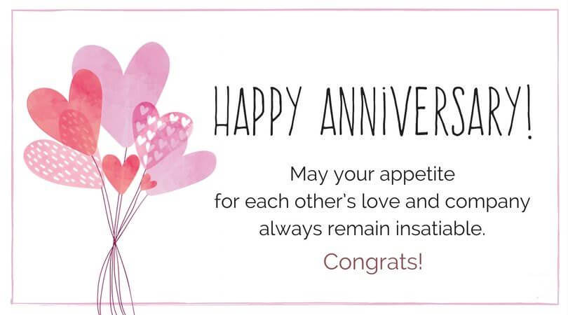 Happy Anniversary Wishes for Couple Greetings