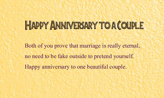 Happy Anniversary Wishes for Couple Status