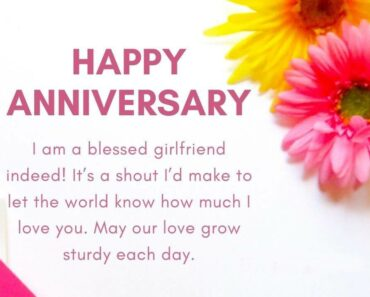 Happy Anniversary Wishes for Girlfriend