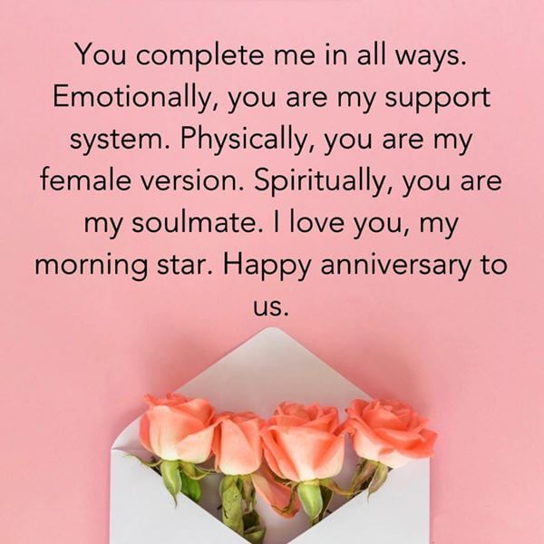 Happy Anniversary Wishes for Girlfriend Gift Card