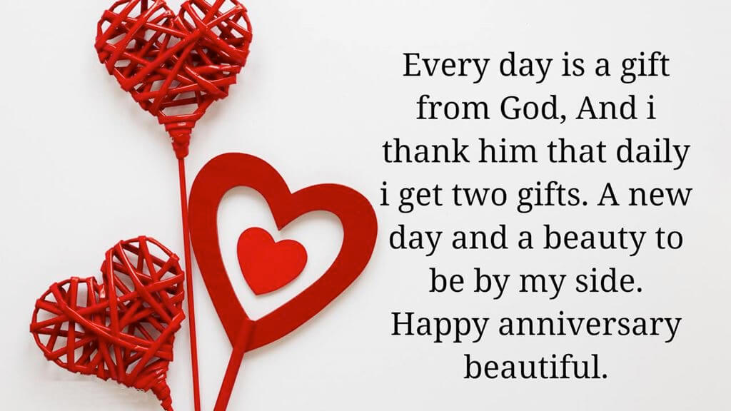 Happy Anniversary Wishes for Girlfriend Greeting Card