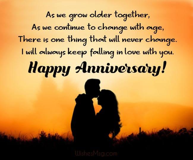 Happy Anniversary Wishes for Girlfriend Status