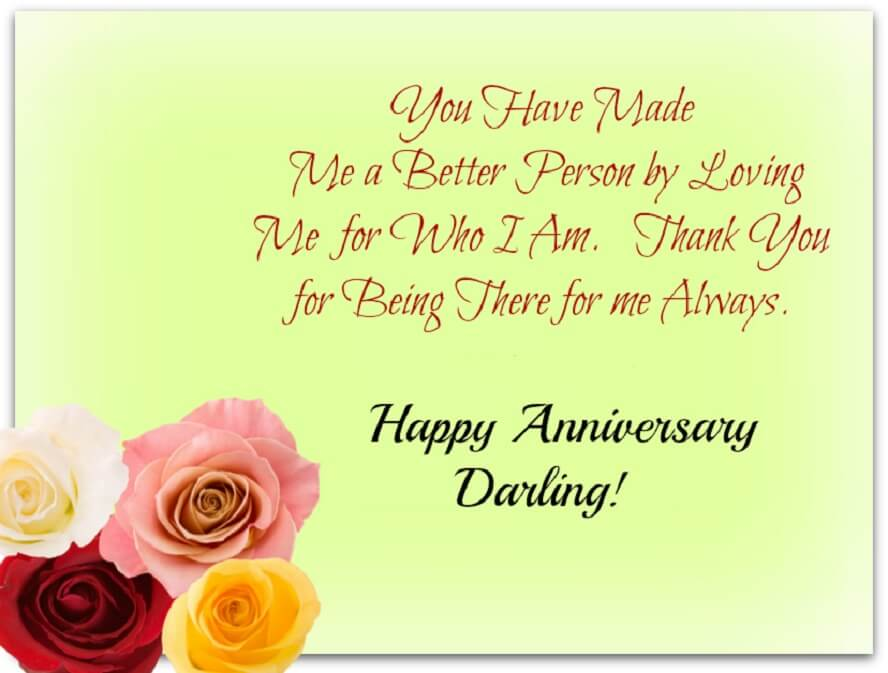 Happy Anniversary Wishes for Husband Greeting Card