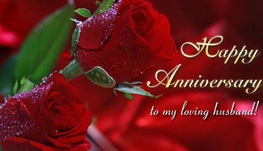 Happy Anniversary Wishes for Husband Messages