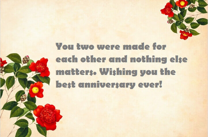 Happy Anniversary Wishes for Sister & Jiju Greeting Card