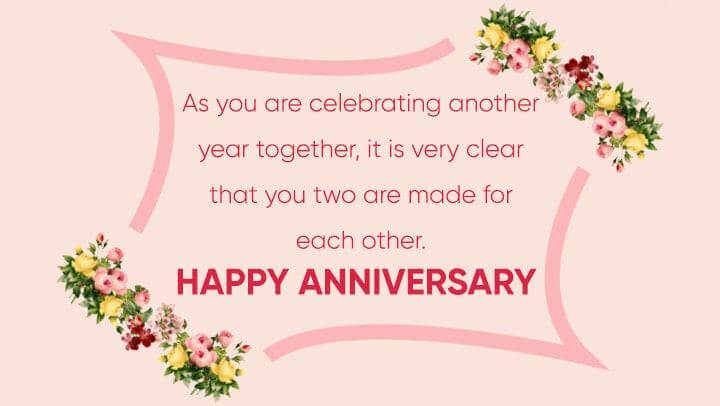 Happy Anniversary Wishes for Sister & Jiju