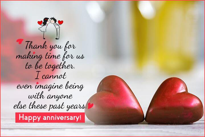 Happy Anniversary Wishes for Wife Quotes
