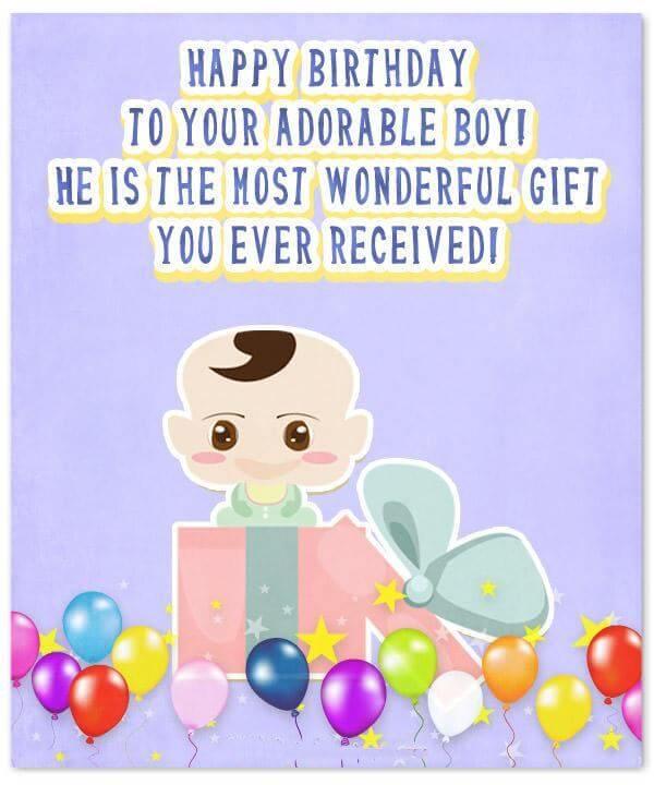 Happy 1st Birthday Boy Wishes