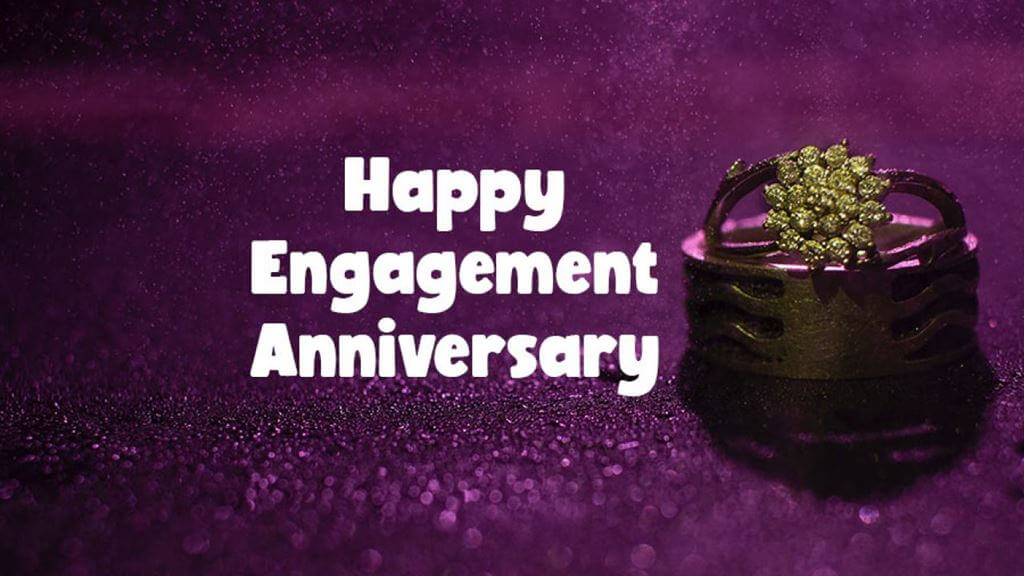 Happy 1st Engagement Anniversary Wishes Images
