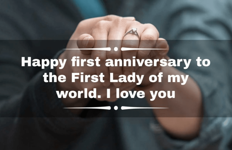 Happy 1st Engagement Anniversary Wishes Lady