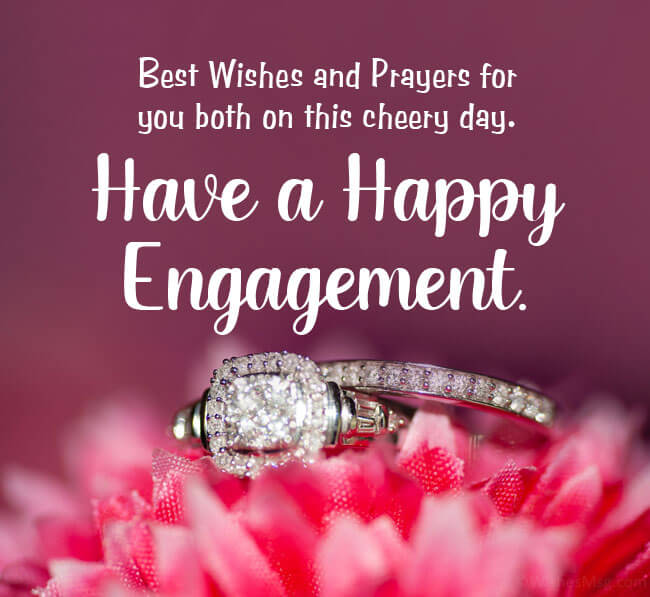 Happy 1st Engagement Anniversary Wishes Ring