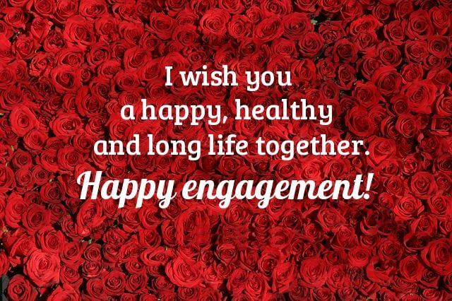 Happy 1st Engagement Anniversary Wishes Rose