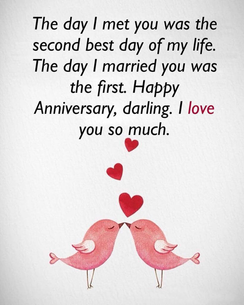 Happy 2nd Anniversary Wishes Birds