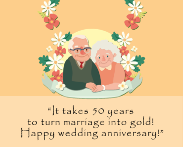 Happy 50th Anniversary Wishes