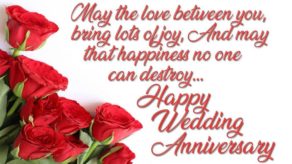 Happy Anniversary Wishes for Friend Bouquet