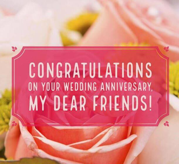 Happy Anniversary Wishes for Friend Funny