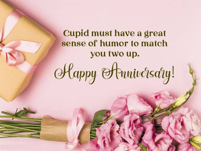 Happy Anniversary Wishes for Friend Gift