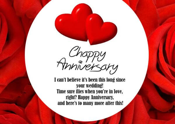 Happy Anniversary Wishes for Friend Heart