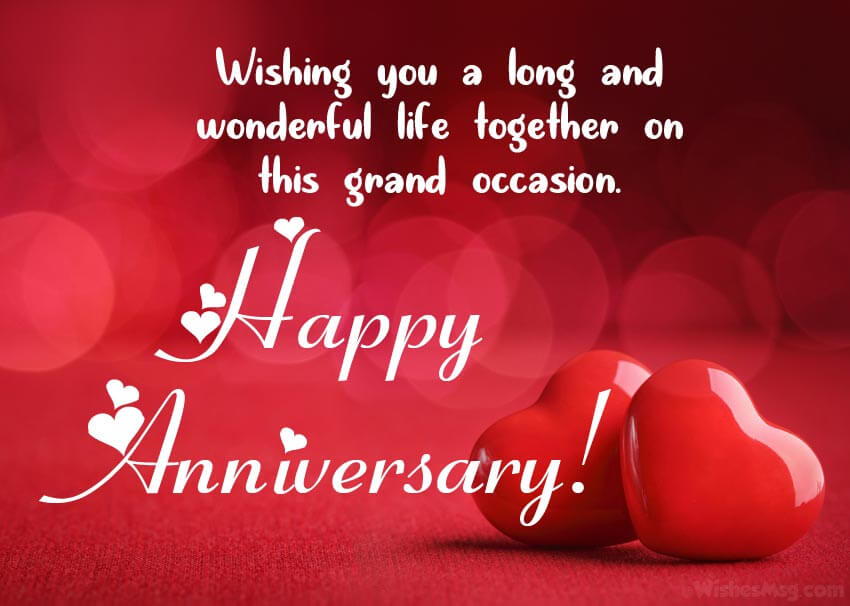 Happy Anniversary Wishes for Friend Message