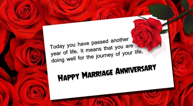 Happy Anniversary Wishes for Friend Red Rose