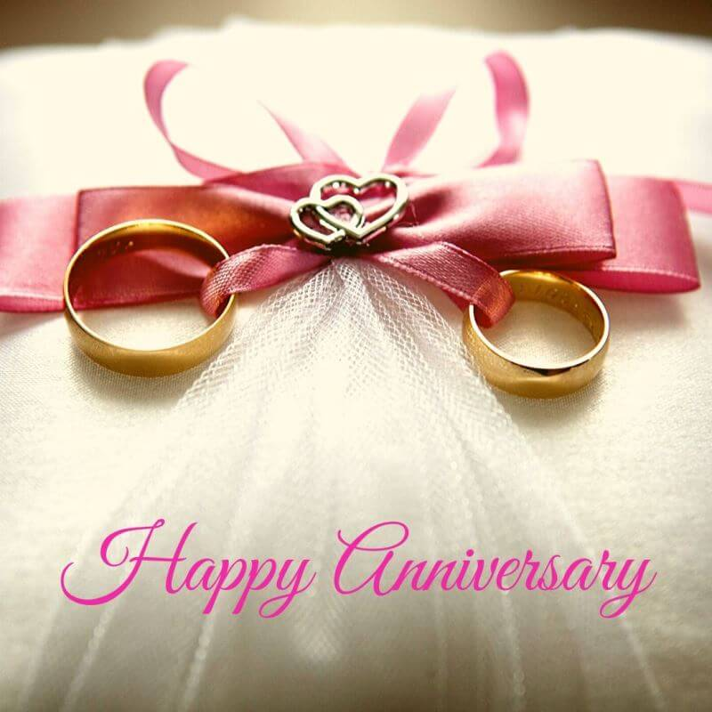 Happy Anniversary Wishes for Friend Ring