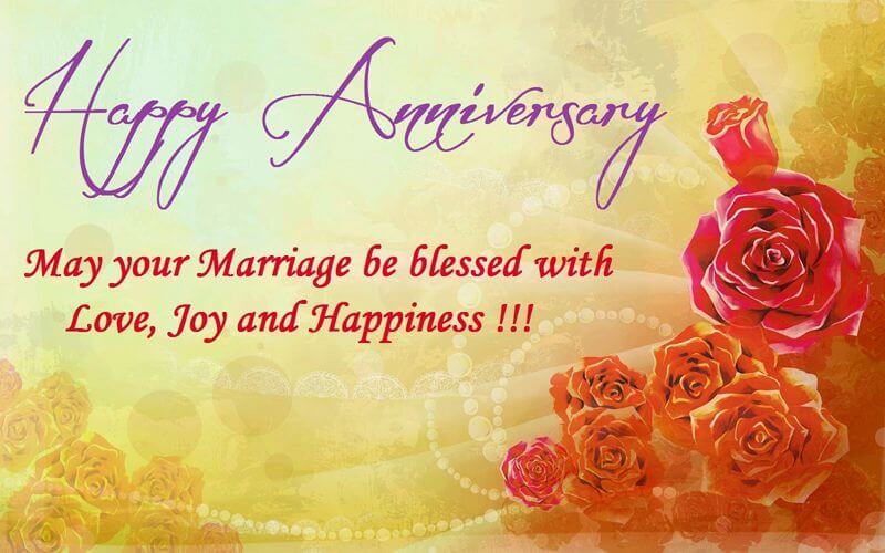 Happy Anniversary Wishes for Friend Status