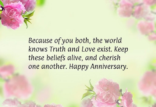 Happy Anniversary Wishes for Parents Images