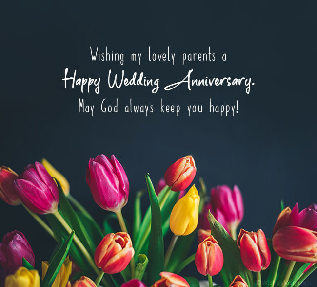 Happy Anniversary Wishes for Parents Memories