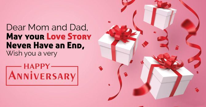 Happy Anniversary Wishes for Parents Message