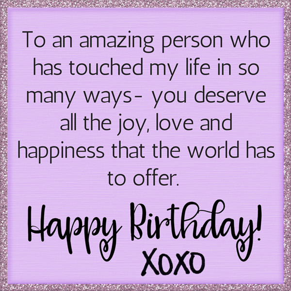 Happy Birthday Wishes for Someone Special Greetings
