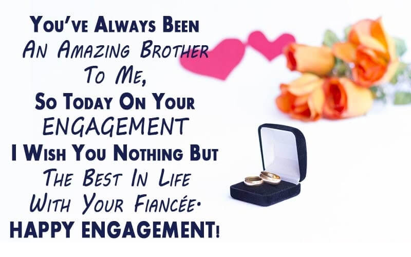 Happy Engagement Wishes Heart