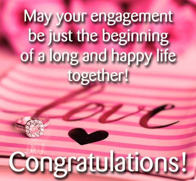 Happy Engagement Wishes Love