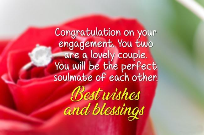 Happy Engagement Wishes Message