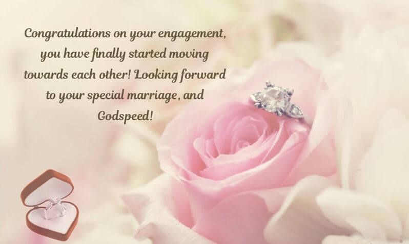 Happy Engagement Wishes Ring