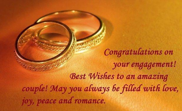 Happy Engagement Wishes Romantic