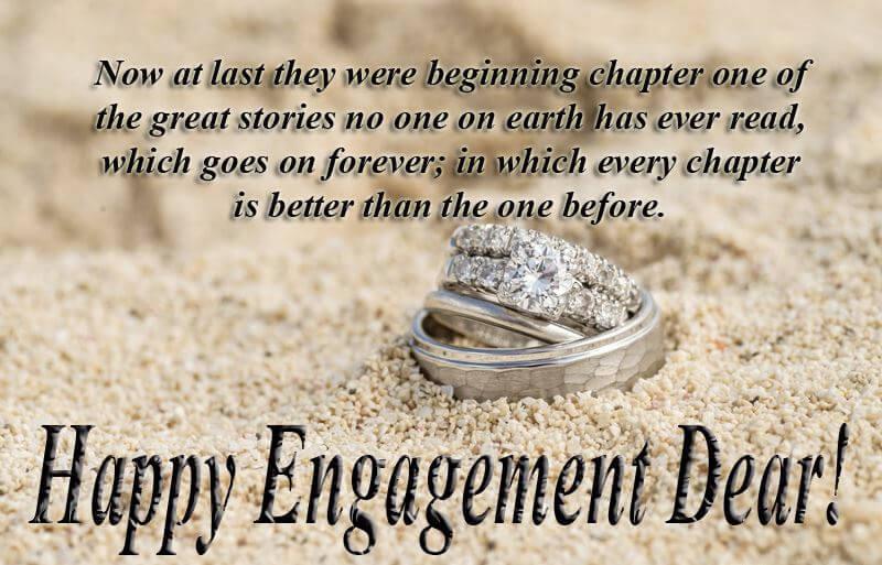 Happy Engagement Wishes Status